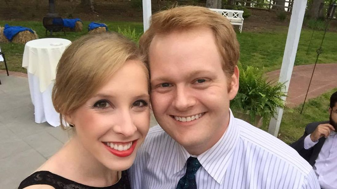 Alison Parker and Chris Hurst