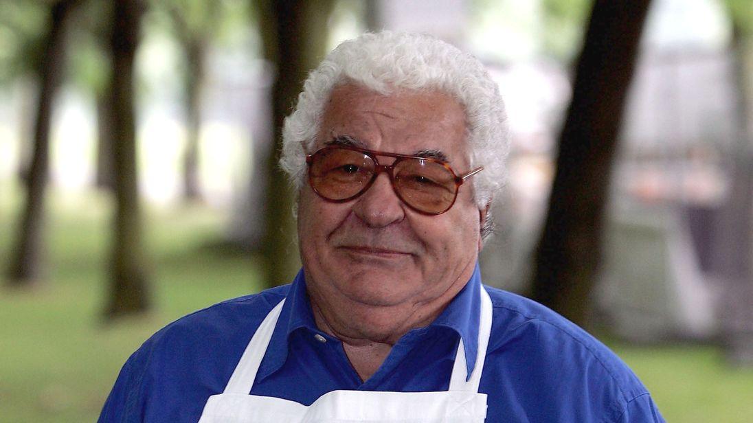 Celebrity chef Antonio Carluccio