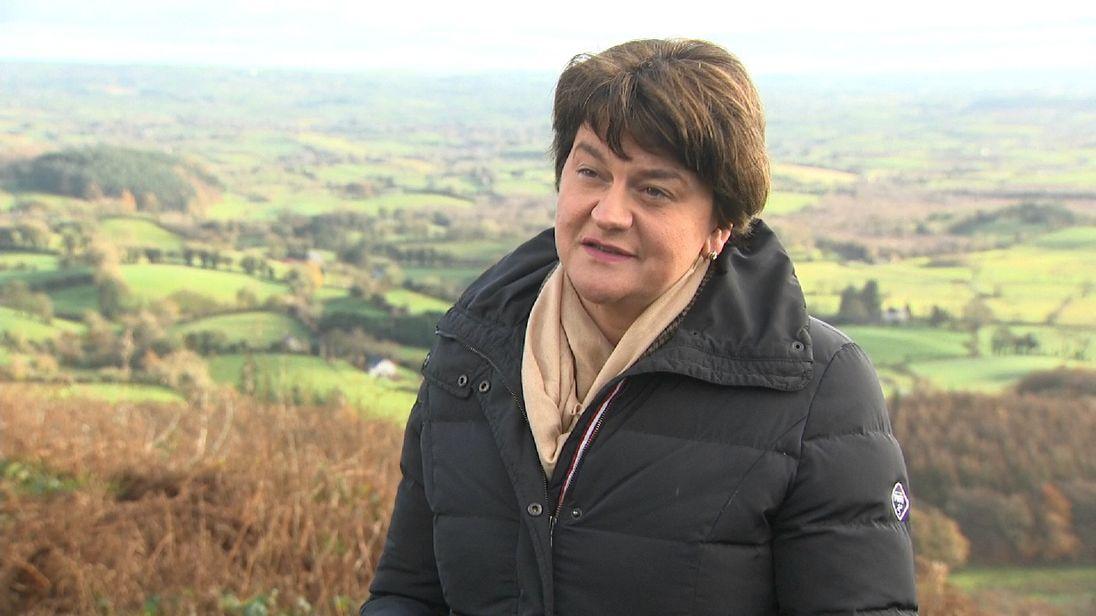 DUP leader Arlene Foster