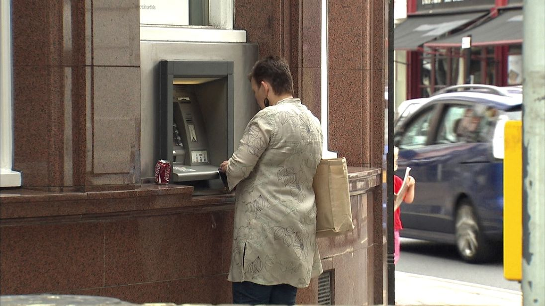 Thousands of cash machines may be axed