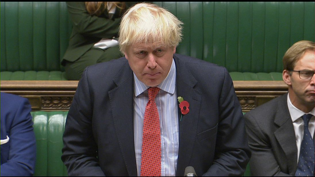 Boris Johnson offers some clarity to the House of Commons on his comments on Nazanin Zaghari-Ratcliffe