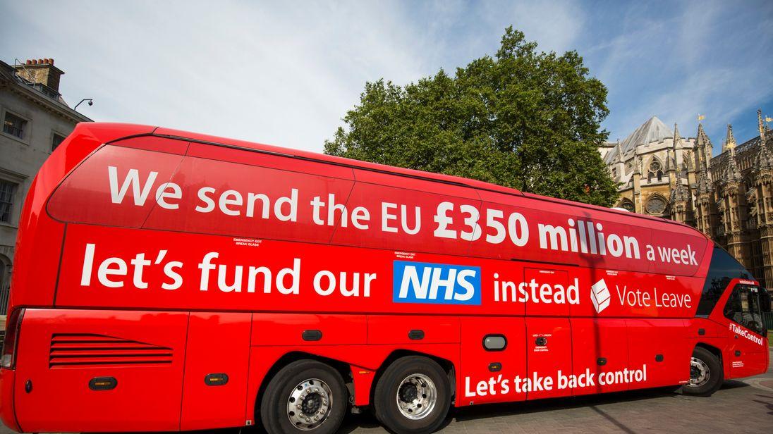 The 'Vote LEAVE' battle bus