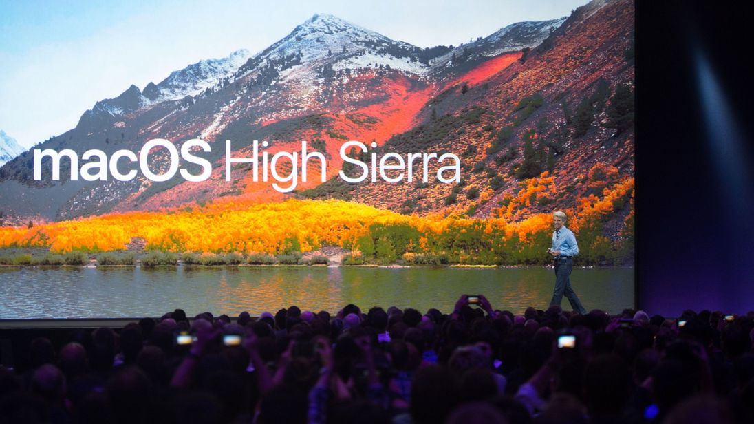 Apple's Senior Vice President of Software Engineering Craig Federighi introduces macOS High Sierra during Apple's World Wide Developers Conference in San Jose, California on June 05, 2017