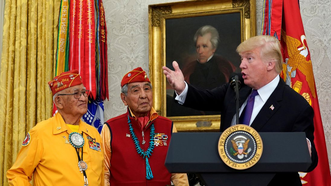 Navajo Nation to Trump after 'Pocahontas' comment: 'Cultural insensitivity is unfortunate'