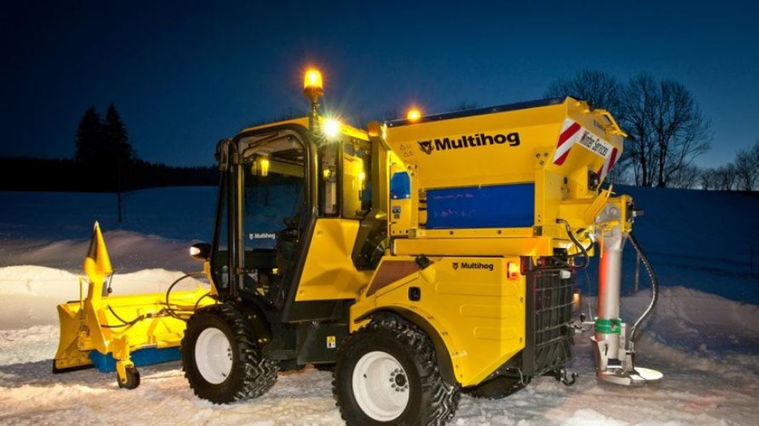 One of Doncaster Council's new gritters, which was named in a public competition. @MyDoncaster