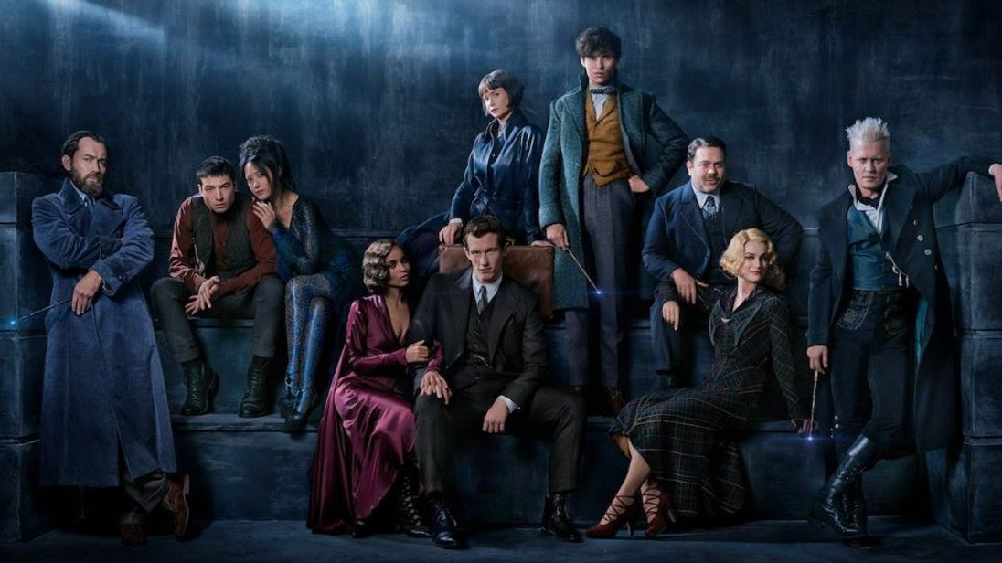 Fantastic Beasts 2 : New title! New Image! New Title Treatment!