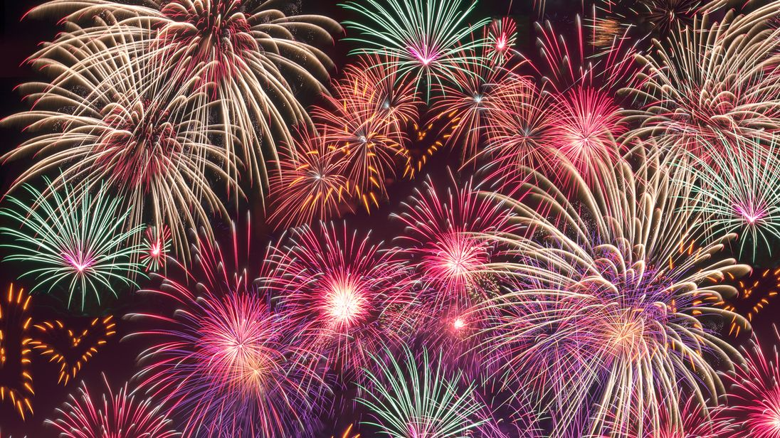 Many will brave the cold weather on Saturday to enjoy a night of fireworks and bonfire