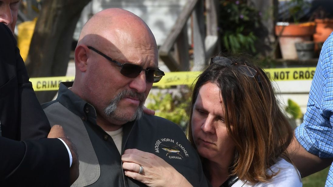 Annabelle's parents Frank and Sherri Pomeroy spoke at a press conference