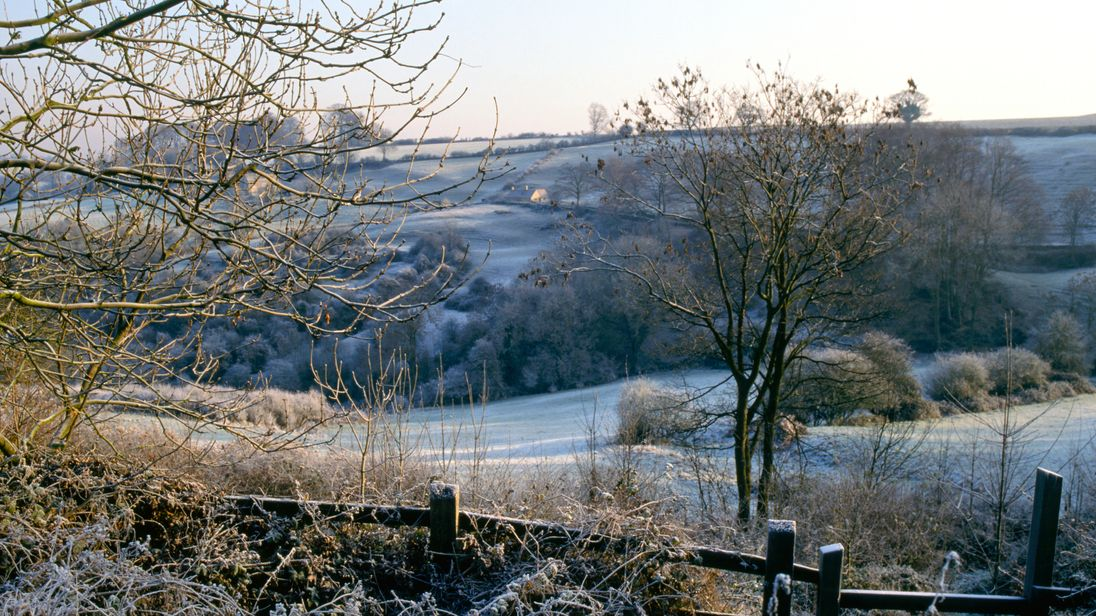 Frost in the Cotswolds
