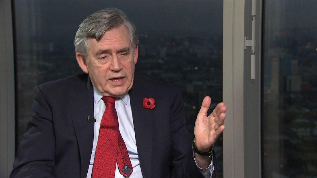 Gordon Brown is reluctant to go too deeply into his relationship with Tony Blair
