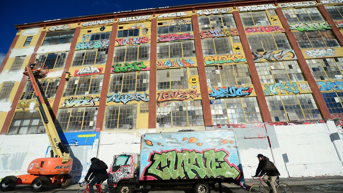 5Pointz was a famous hub for graffiti artists until it was demolished in 2014