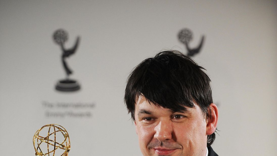 Graham Linehan won an Emmy for 'The IT Crowd' in 2008
