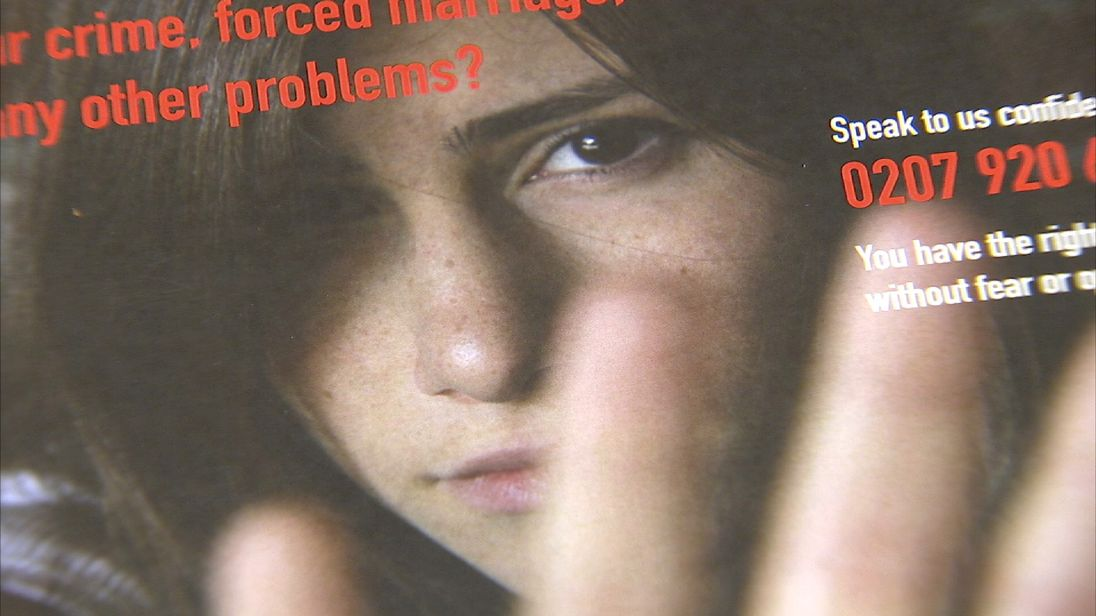 A brochure with advice for young women who may be victims of honour crime or forced marriage