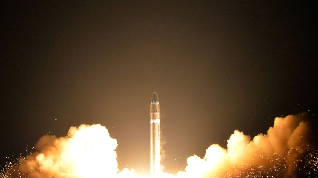 Airplane Flight Crew Gets Front Row Seat To North Korean Missile Test