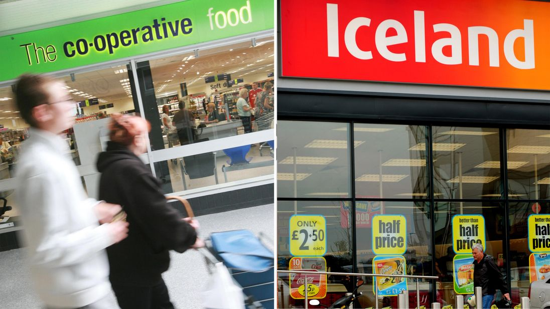 The Co-op and Iceland