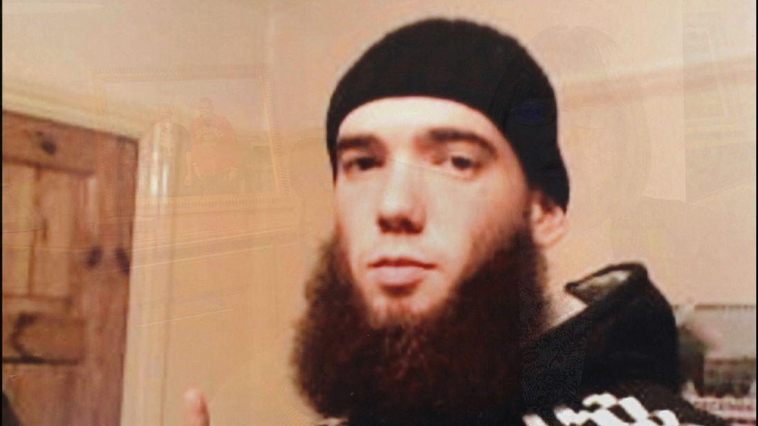 British jihadi Thomas Evans