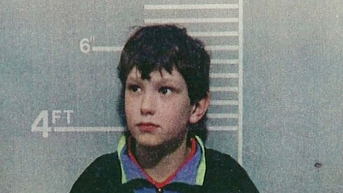 Jon Venables, aged 10, poses for a mugshot on February 20, 1993