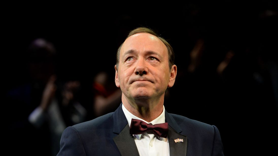 Spacey replacement nominated for Golden Globe