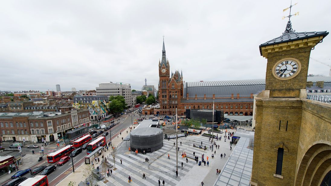 King's Cross Square, near to where Facebook is seeking office space