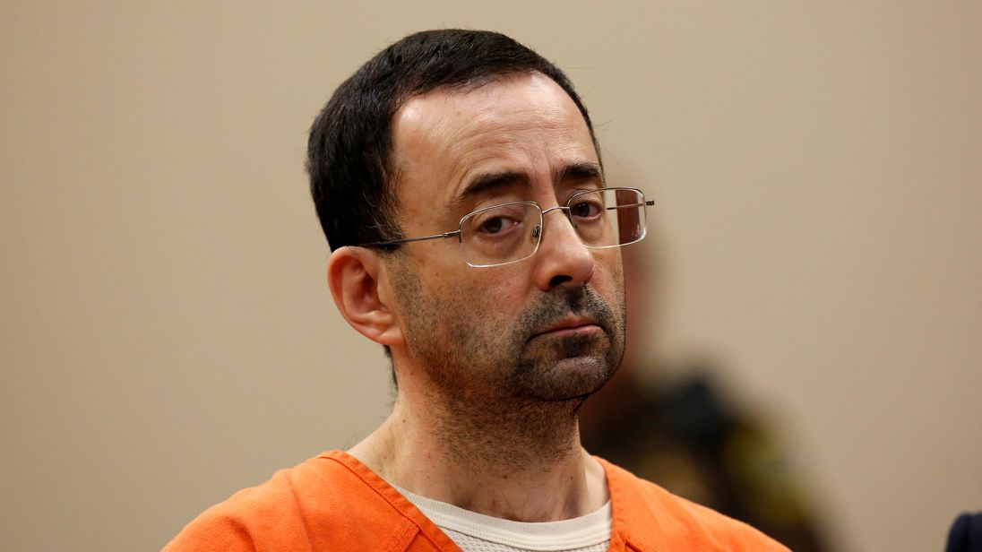 US Gymnastics team doctor Nassar pleads guilty to criminal sexual conduct