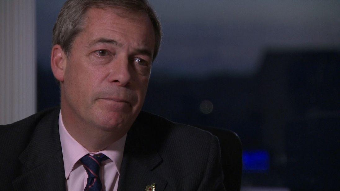 Farage set for €150k EU exit payout