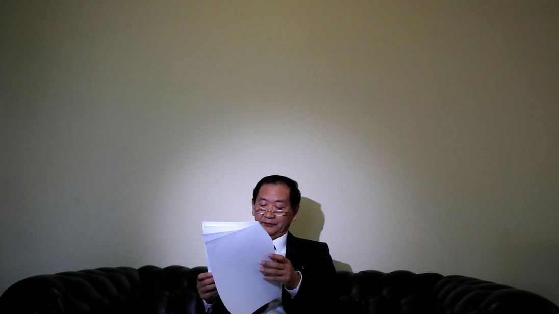 North Korea's ambassador to the UN was at the country's permanent mission in Geneva