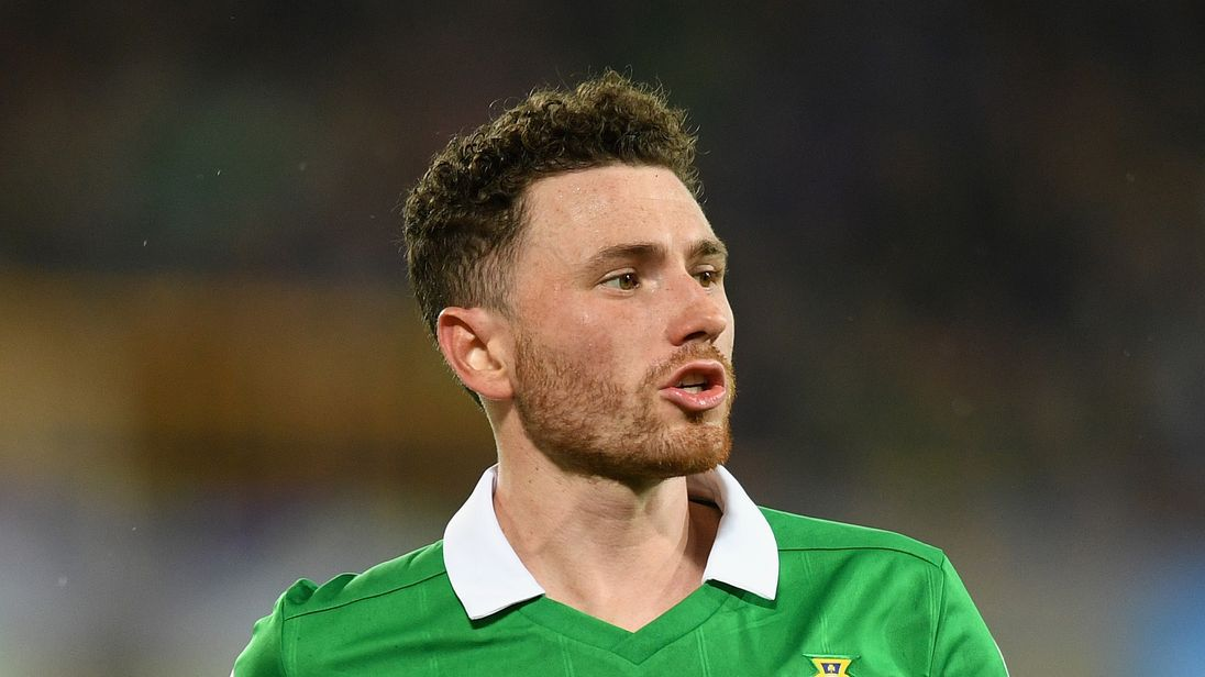 Corry Evans during the FIFA 2018 World Cup Qualifier Play-Off