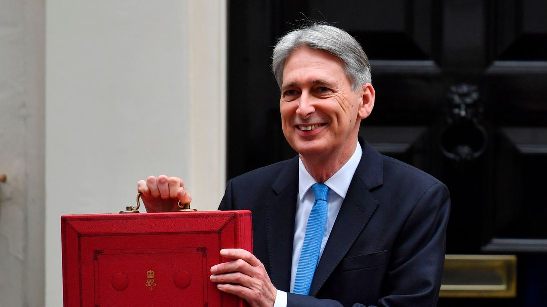 Chancellor Philip Hammond Ditches Budget Red Box For Pared Back Spring Statement