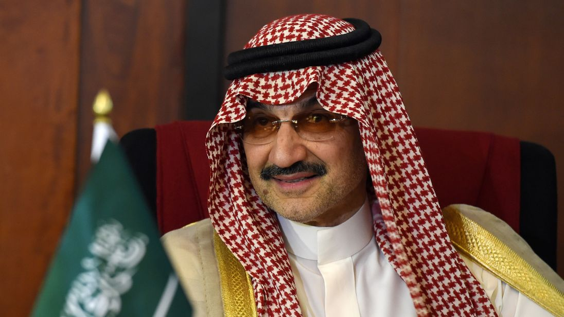Billionaire Saudi investor  Prince Alwaleed bin Talal is among the senior figures detained