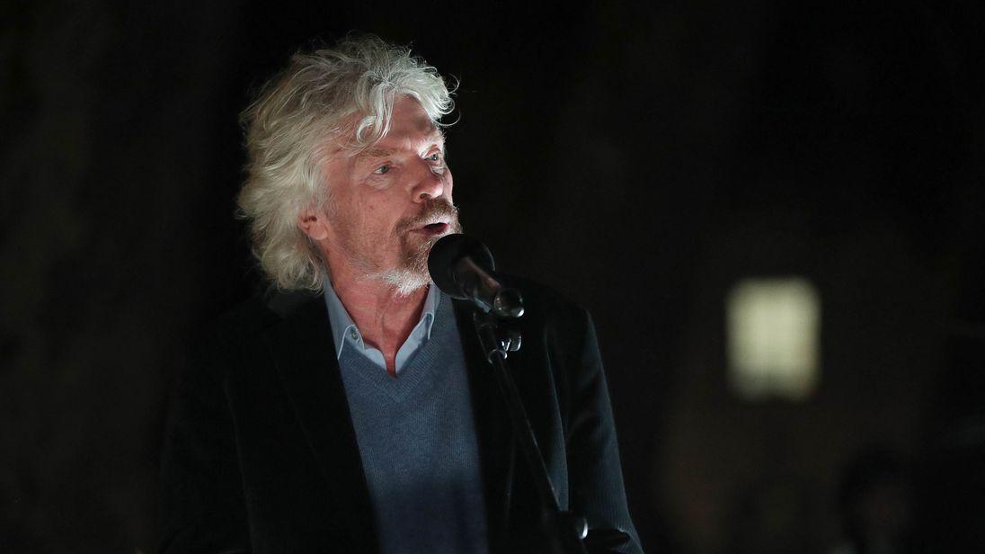 Sir Richard Branson responds to 'sex assault' claim