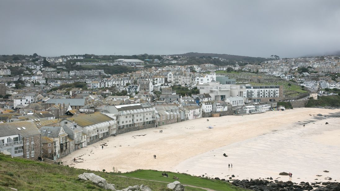 Parking spaces in the Cornish resort of St Ives are extremely expensive