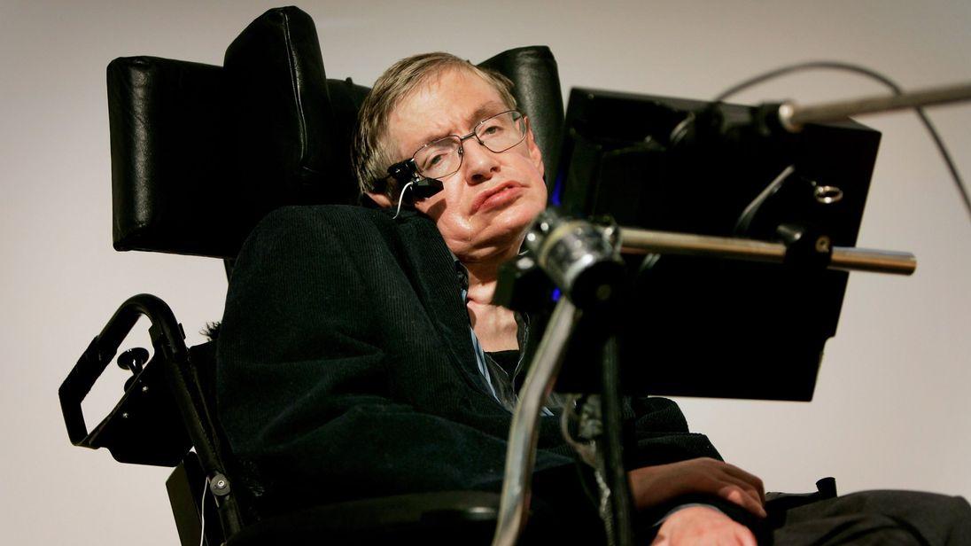 Stephen Hawking has motor neuron disease