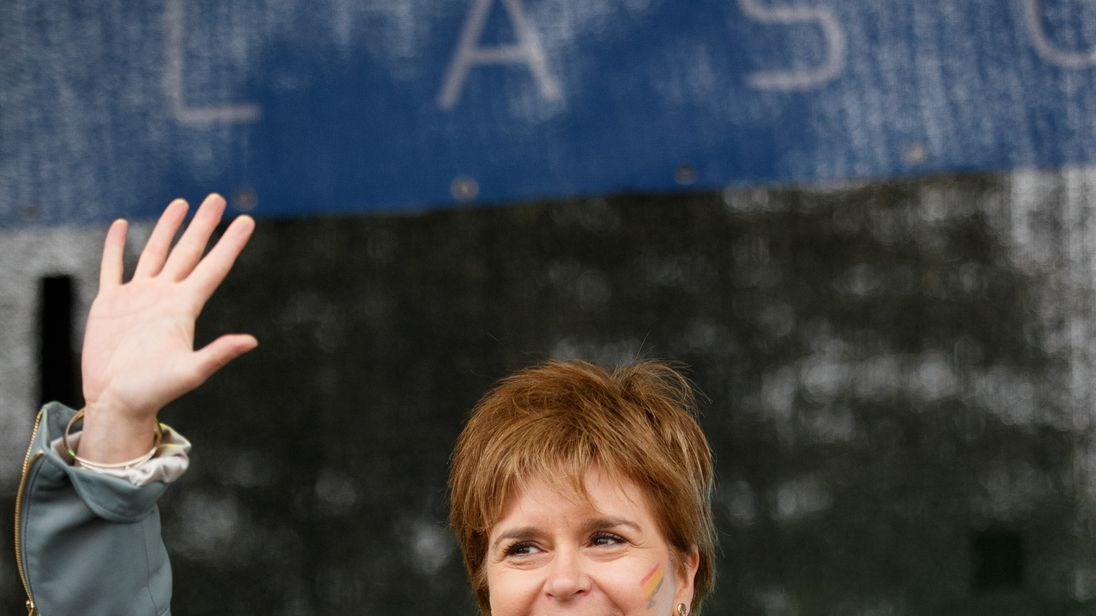 First Minister opens Pride Glasgow in August 2017