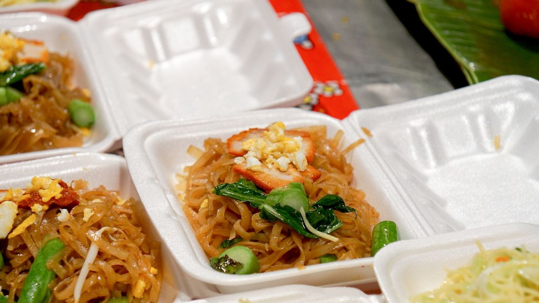 Food served in styrofoam containers could be subject to taxes