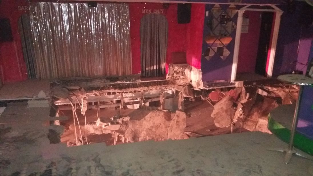 Dancefloor collapse in Tenerife leaves 22 hurt