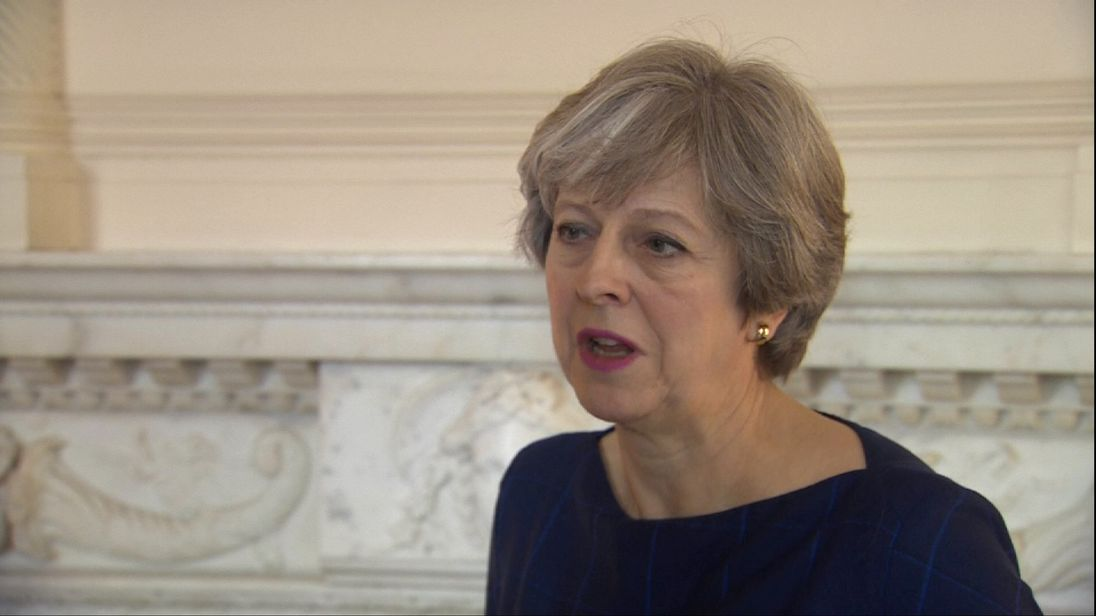 'We are ready to move on to phase two of Brexit talks' - May
