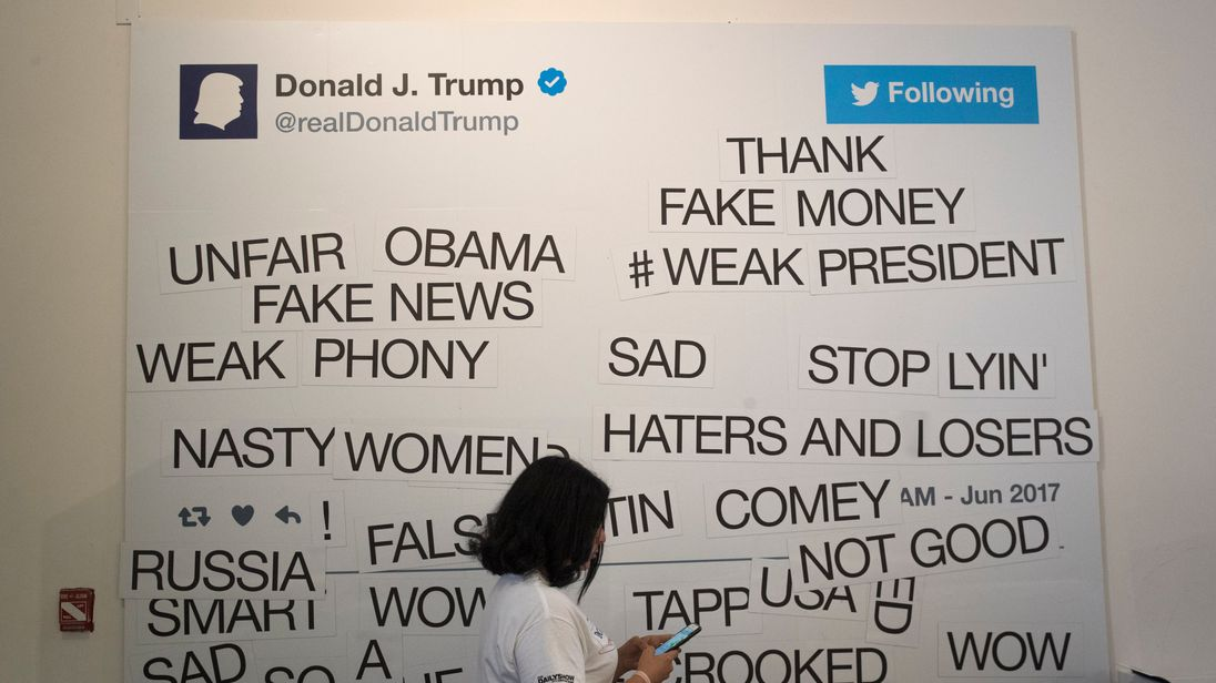 A Parody Trump Presidential Library opened in New York in June