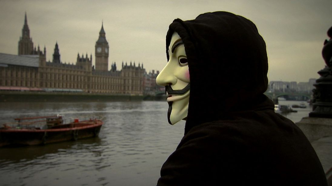 Anonymous hackers and activists