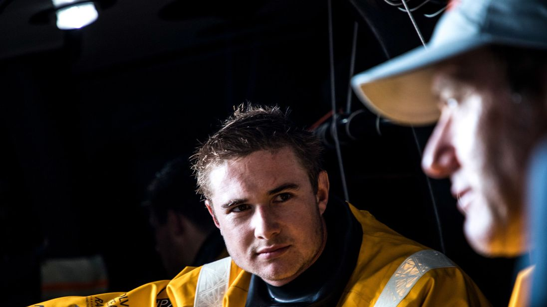 Leg Zero, training on Turn the Tide on Plastic with Tony Rey. Photo by Jeremie Lecaudey/Volvo Ocean Race. 12 September, 2017