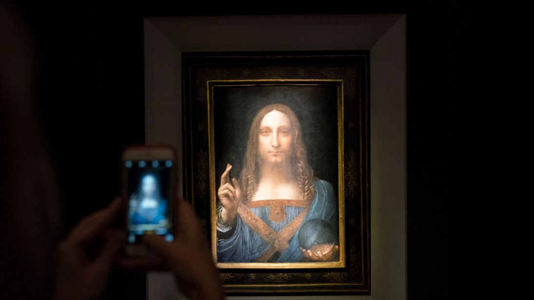 Abu Dhabi postpones unveiling of $450 million da Vinci painting