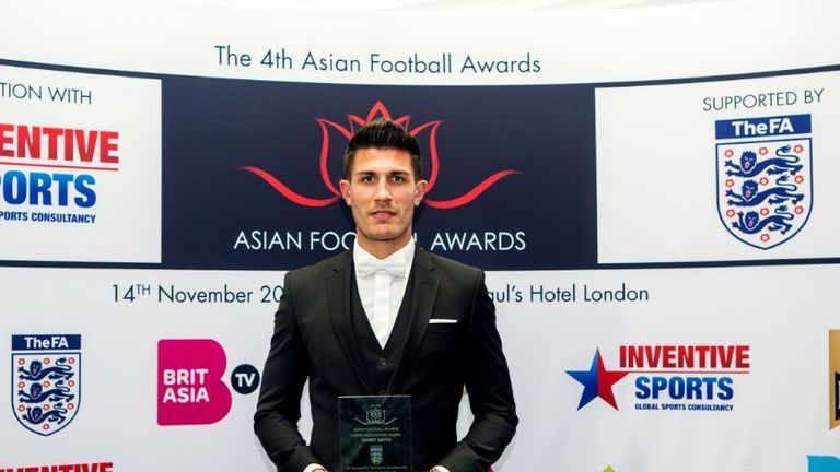 Danny Batth says he is proud of his heritage and his journey after winning Player Recognition award at the 2017 Asian Football Awards