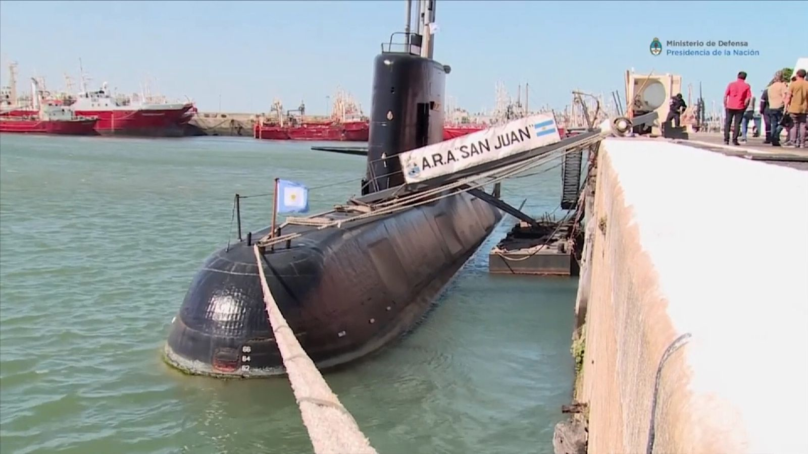 Mystery sound 'did not come from missing sub'