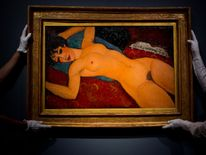 Amedeo Modigliani's Nu couche