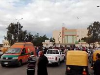 At least 200 people have been killed. Pic: Bir al-Abed News
