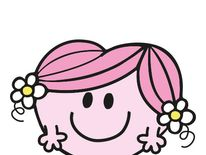 Little Miss Hug loves nothing more than to hug her friends. Her best friend is Little Miss Princess.