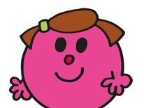 Little Miss Wise is no fool - she knows not to eat too much like Mr Greedy or to take presents from Mr Mischief