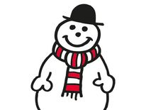 Mr Snow may be made of snow, but he has a warm heart. Unsurprisingly, his best friend is Father Christmas
