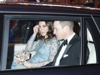 The Duke and Duchess of Cambridge attended the Royal Variety Performance