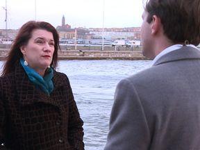 Sweden's Europe minister Ann Linde