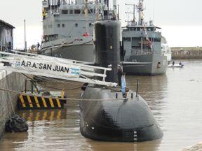 ARA San Juan, an Argentine military submarine. Pic: Juan Kulichevsky